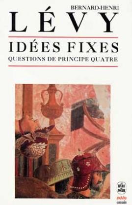 Couverture du livre Questions de principe IV de Bernard-Henri Lévy