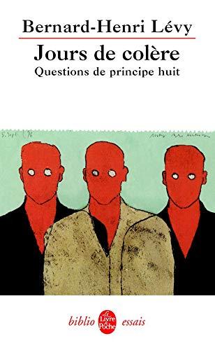Couverture du livre Questions de principe VIII de Bernard-Henri Lévy